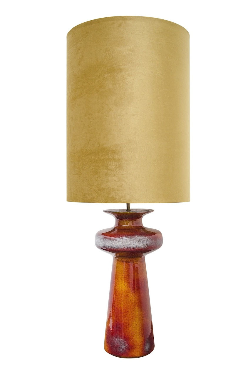 lighting lamps lamp shipping ball orange shade product inch safavieh garden nola overstock today free home stacked set crystal table of